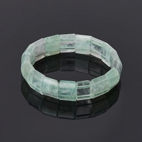 Браслет флюорит зеленый 18 см