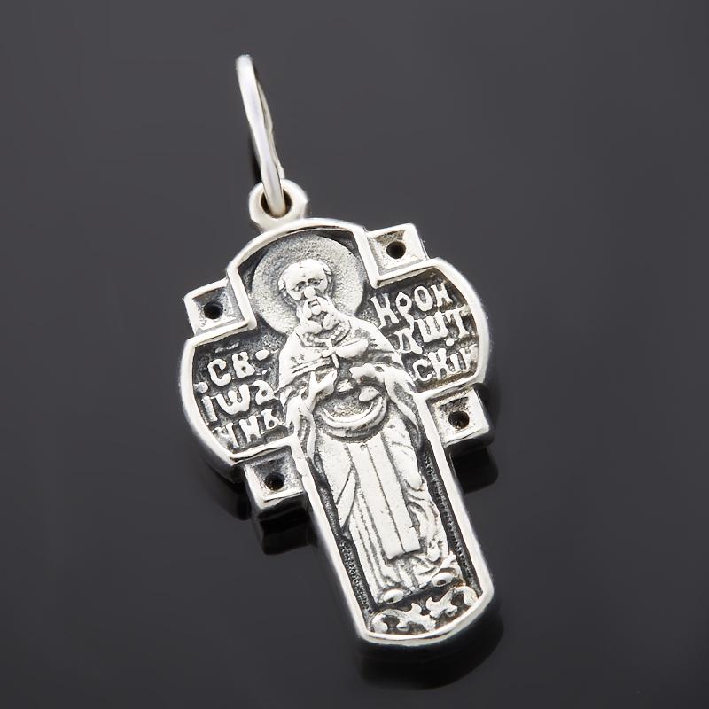Кулон сапфир крест огранка (серебро 925 пр.) кулон mitya veselkov ложка и крест