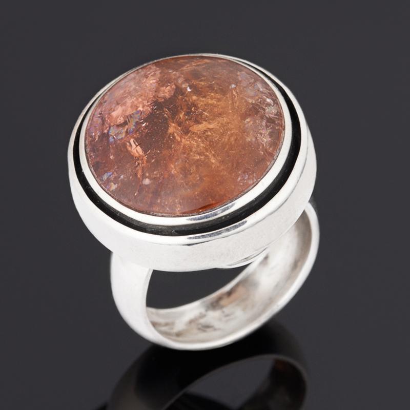 Кольцо турмалин полихромный (серебро 925 пр.) размер 18 кольцо турмалин зеленый серебро 925 пр размер 18