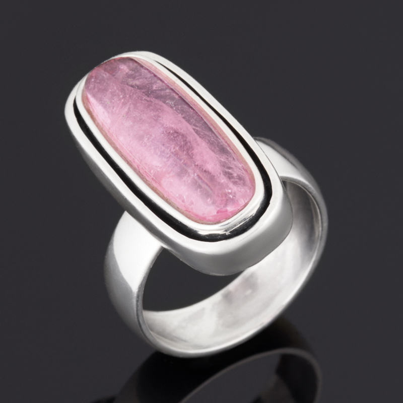 Кольцо турмалин розовый (рубеллит) (серебро 925 пр.) размер 18 кольцо турмалин зеленый серебро 925 пр размер 18