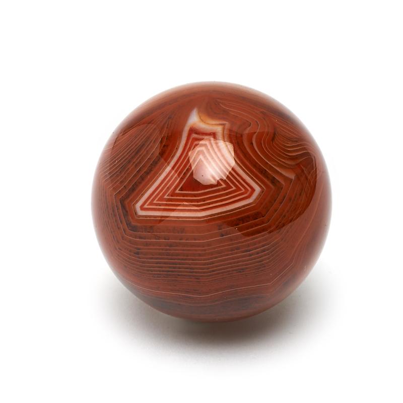 Шар агат красный 5 см шар заринит 5 5 см