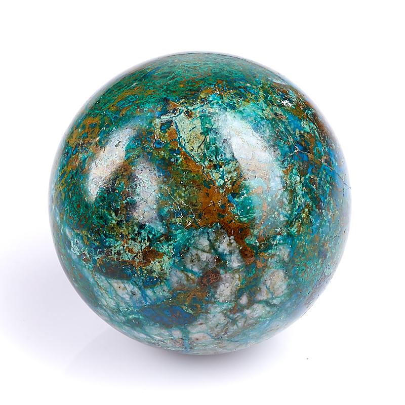 Шар хризоколла 4 см шар бульдог 89 см