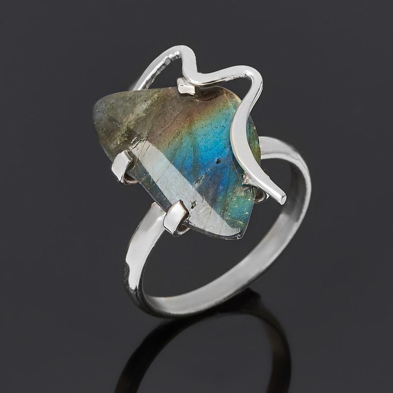 Кольцо лабрадор (дублет) (нейзильбер) размер 18,5