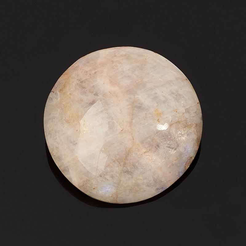 Кабошон лунный камень (беломорит) 25*25 мм 25 мм