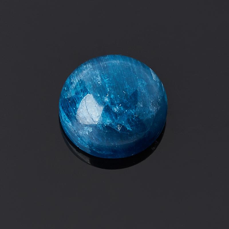 Кабошон апатит синий 10 мм