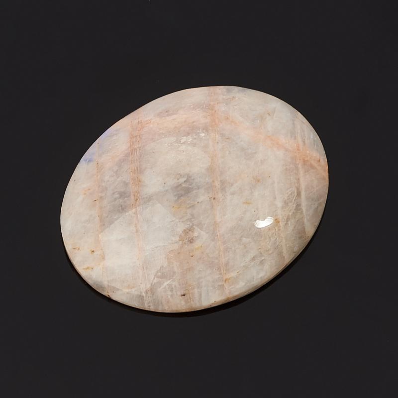 Кабошон лунный камень (беломорит) 25*31 мм