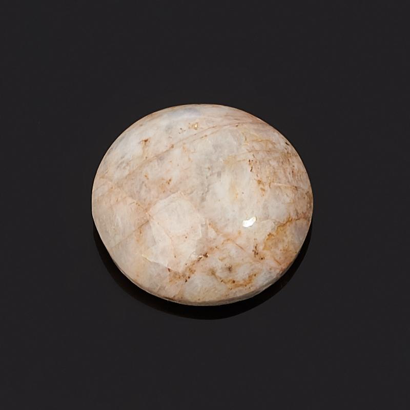 Кабошон лунный камень (беломорит)  17*17 мм