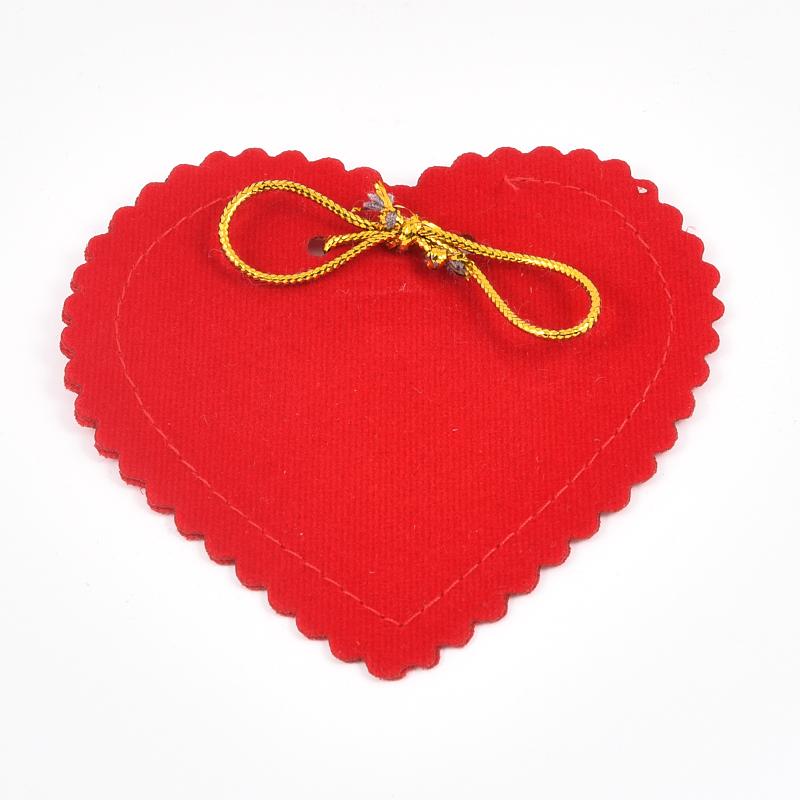 Подарочная упаковка универсальная (мешочек красный) 90х105 мм