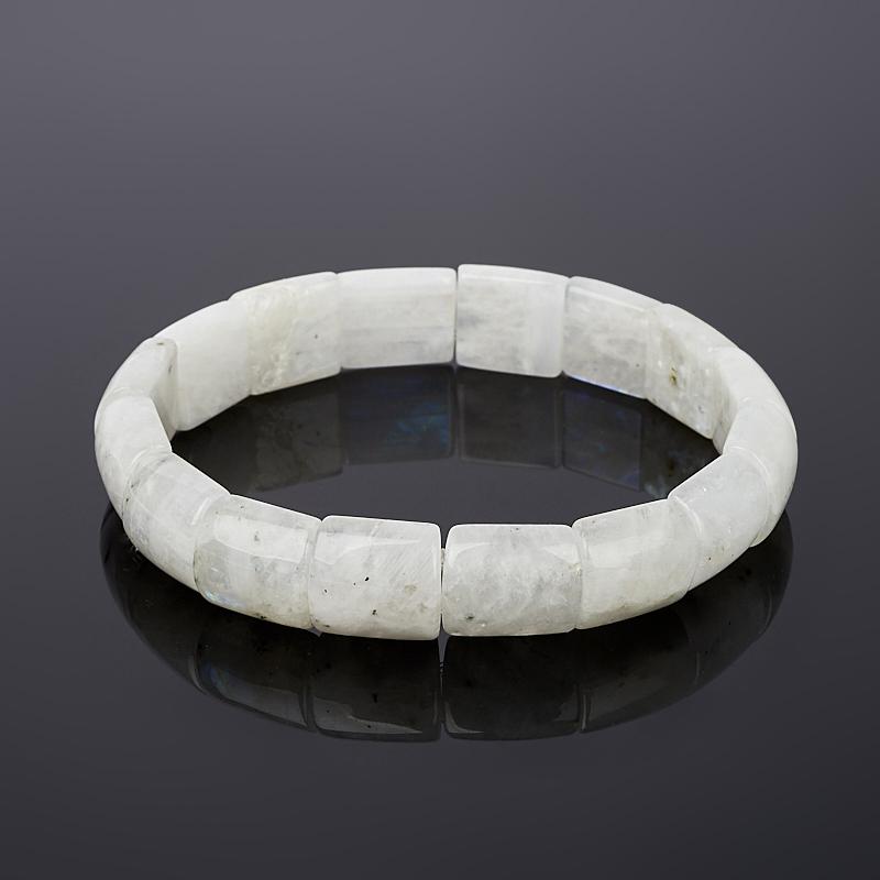 Браслет лунный камень Индия 17 см