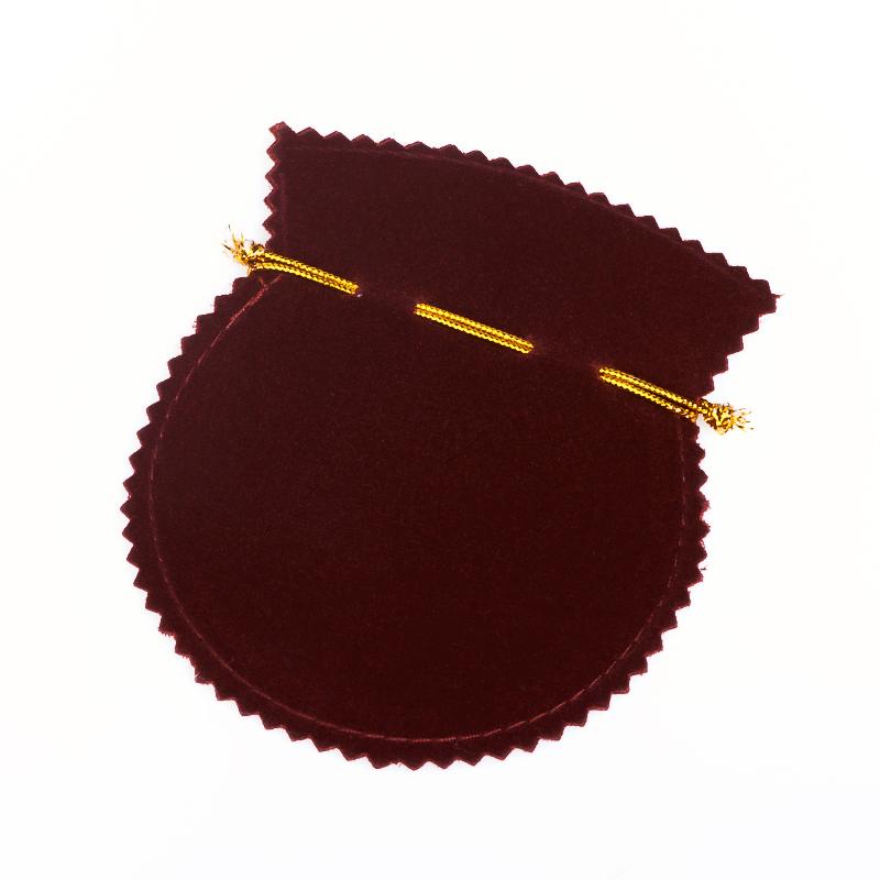 Подарочная упаковка универсальная (мешочек бордовый) 120х100 мм