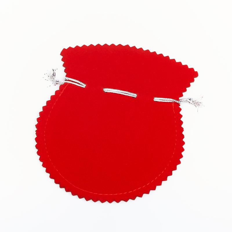 Подарочная упаковка универсальная (мешочек красный) 120х100 мм