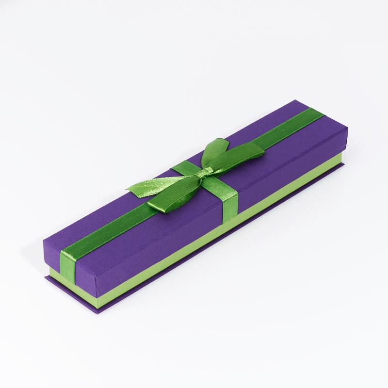 Подарочная упаковка под браслет/цепь 205х45х30 мм