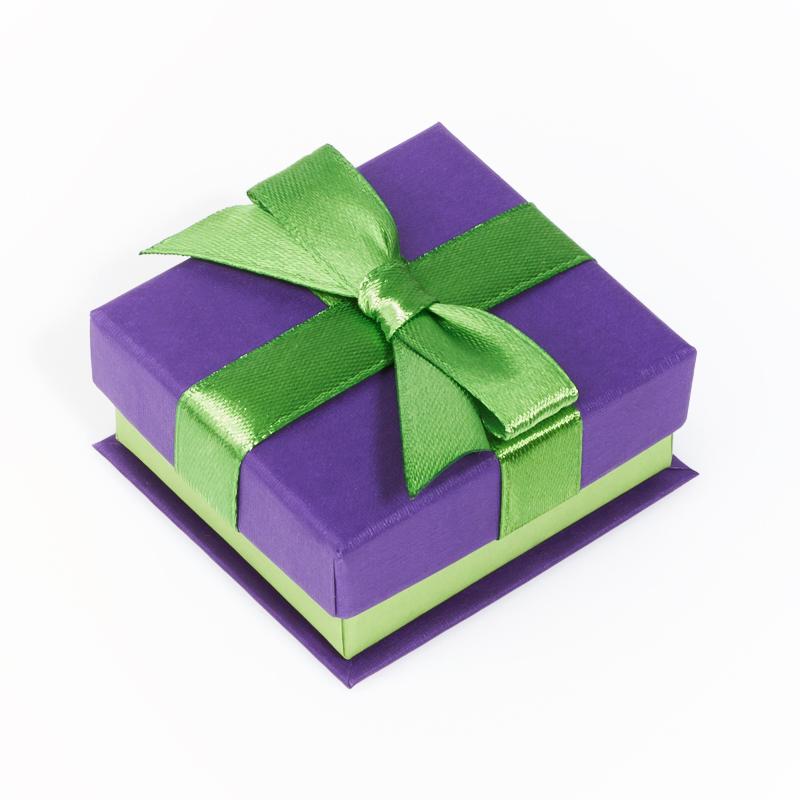 цена Подарочная упаковка под кольцо/серьги 55х50х25 мм
