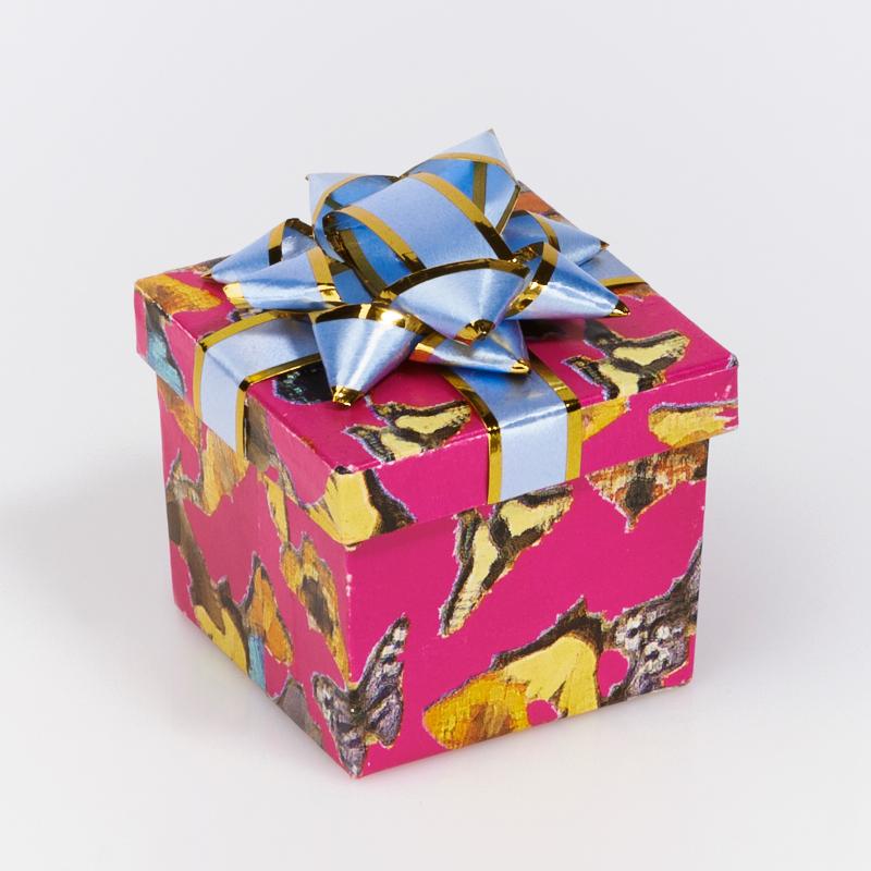 Подарочная упаковка под кольцо/серьги 35х35х35 мм