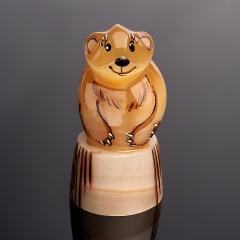 Медведь селенит Россия 8 см