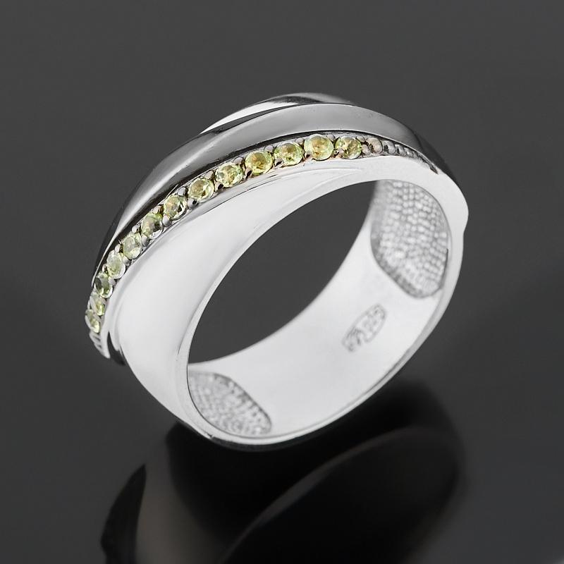 Кольцо хризолит (серебро 925 пр. родир. бел., родир. черн.) огранка размер 17 кольцо аметист серебро 925 пр родир бел родир черн размер 17