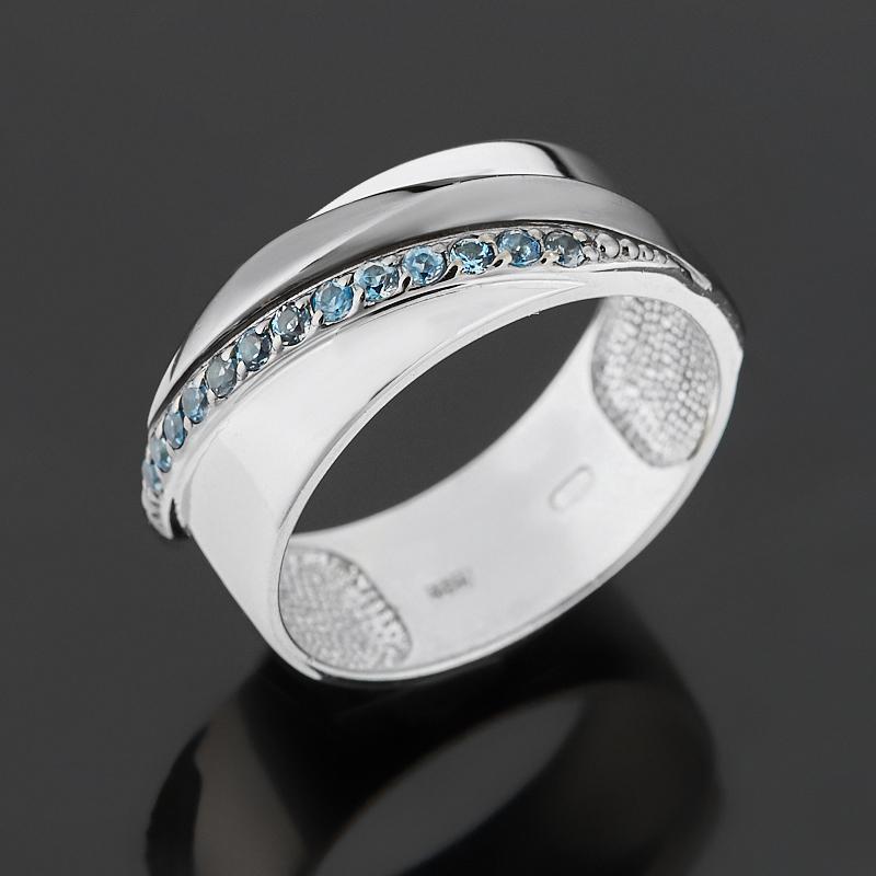 Кольцо топаз лондон (серебро 925 пр. родир. бел., родир. черн.) огранка размер 18,5 кольцо топаз лондон огранка серебро 925 пр размер 16 5