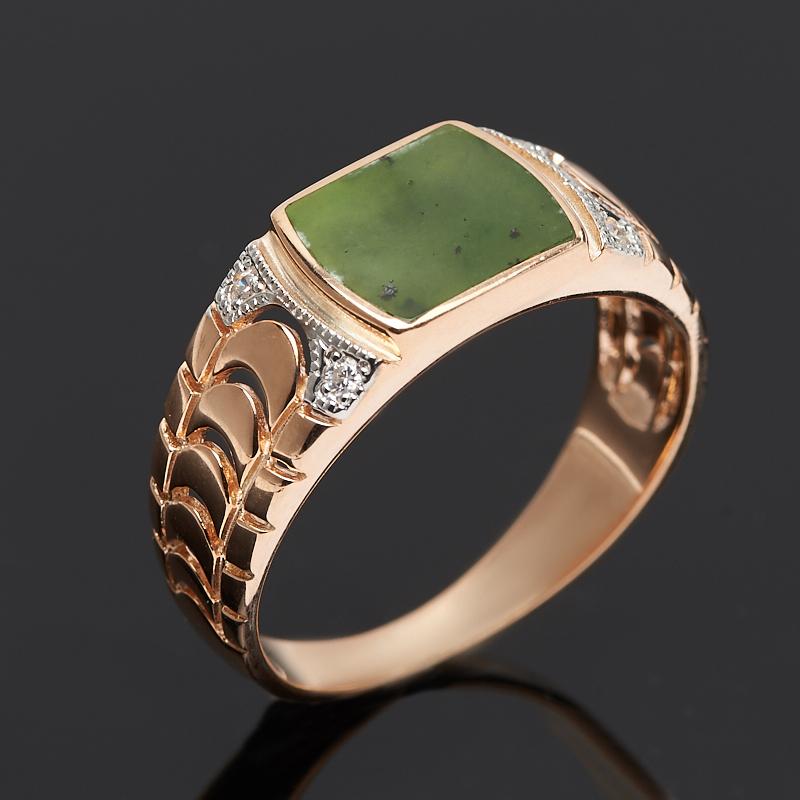 Кольцо нефрит зеленый (серебро 925 пр. позолота) размер 20 кольцо нефрит зеленый серебро 925 пр размер регулируемый