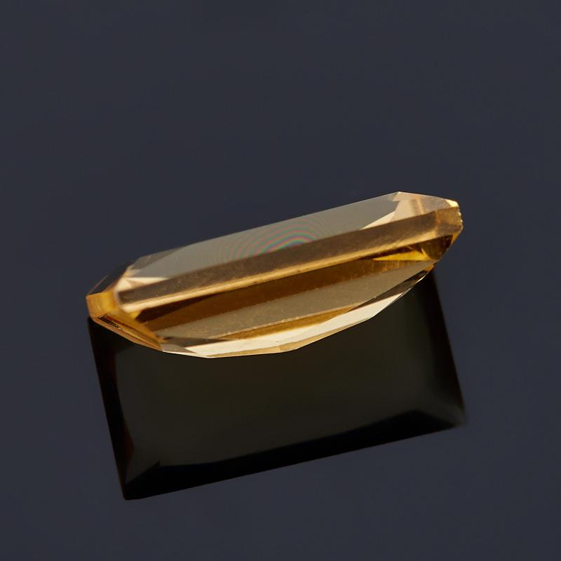 Огранка цитрин Бразилия багет 4*8 мм (1 шт)