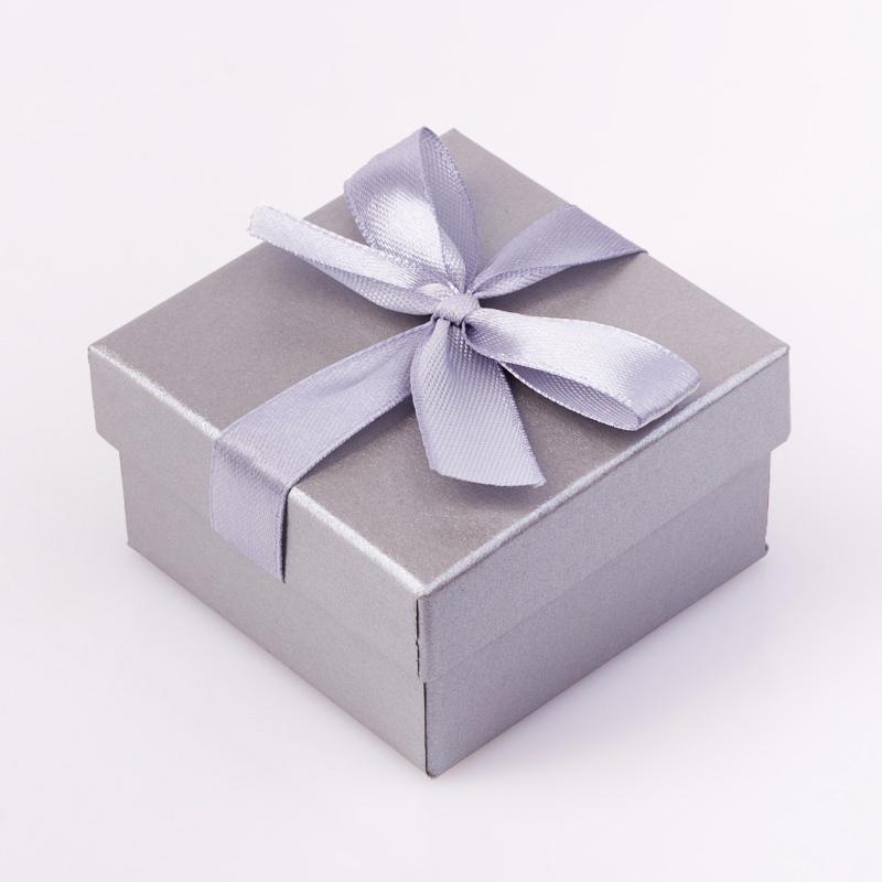Подарочная упаковка под комплект (кольцо, серьги, кулон) 55х55х30 мм подарочная упаковка под комплект кольцо серьги кулон 80х65х25 мм