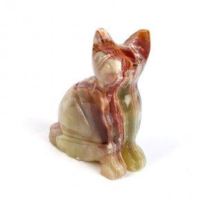 Котик оникс мраморный Пакистан 8 см