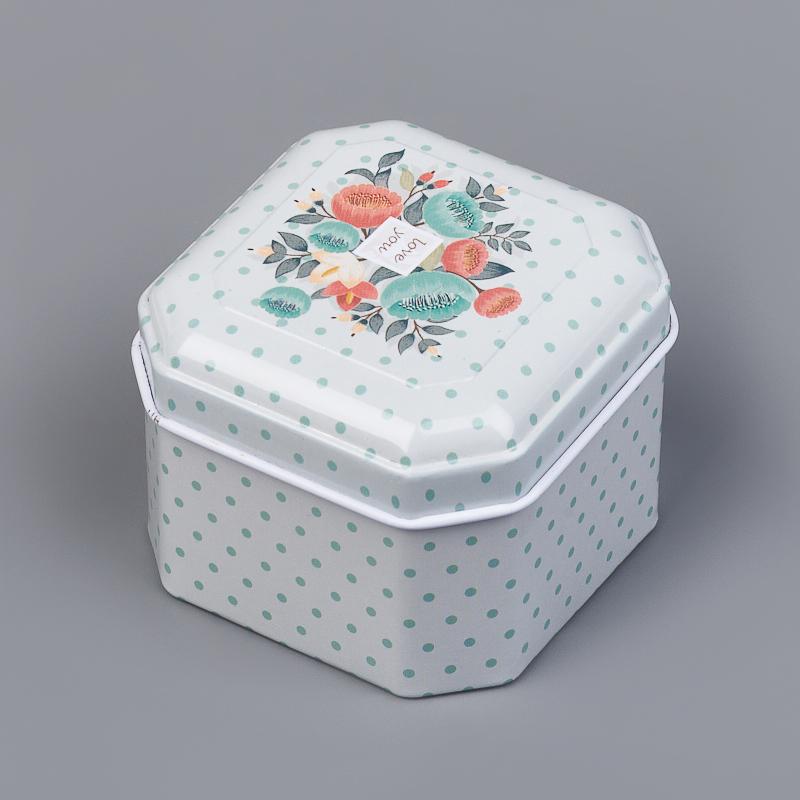 Шкатулка для хранения камней / украшений 6х6х4,5 см