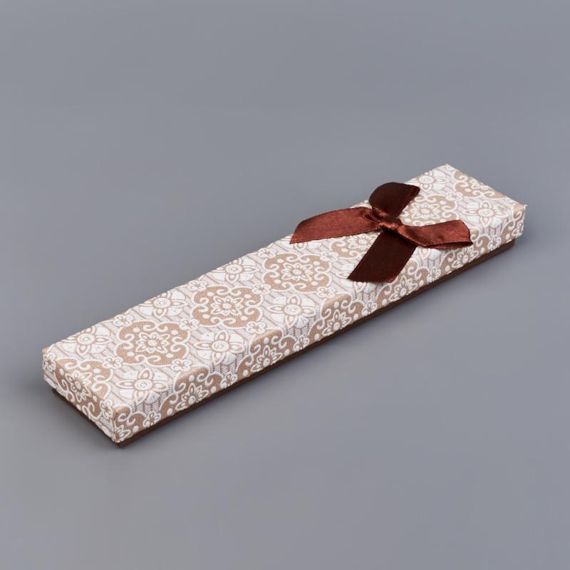 Подарочная упаковка под браслет/цепь 210х45х20 мм