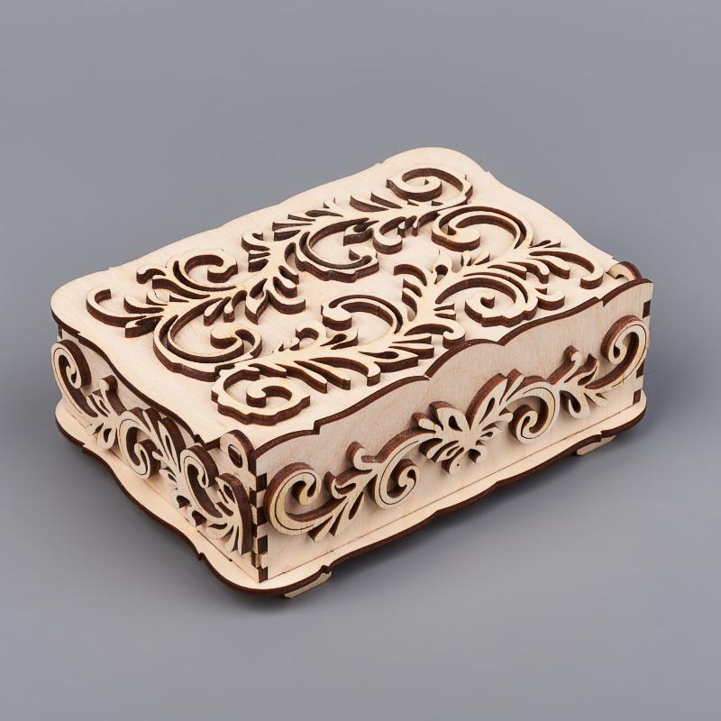 Шкатулка для хранения камней / украшений 14х10х4 см шкатулка для хранения камней украшений 17x10 5x4 5 см