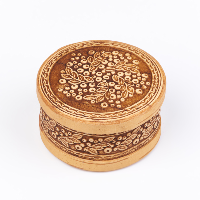 Шкатулка для хранения камней / украшений 8х8х4 см