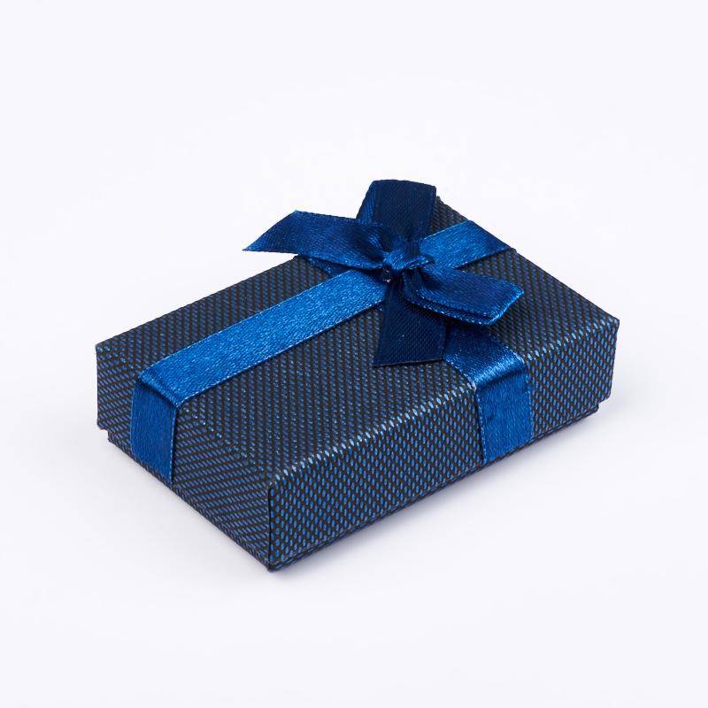 Подарочная упаковка под комплект (кольцо, серьги, кулон) 80х50х20 мм