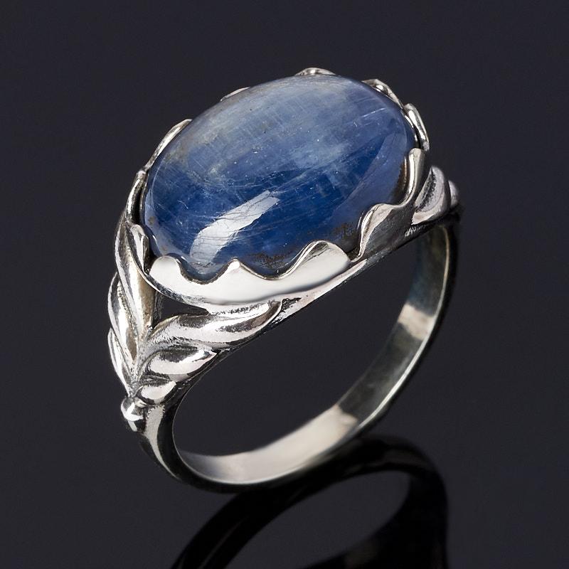 Кольцо кианит синий (серебро 925 пр.) размер 18