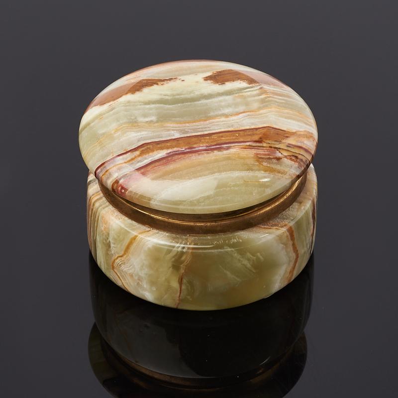 Шкатулка оникс мраморный Пакистан 4х6 см