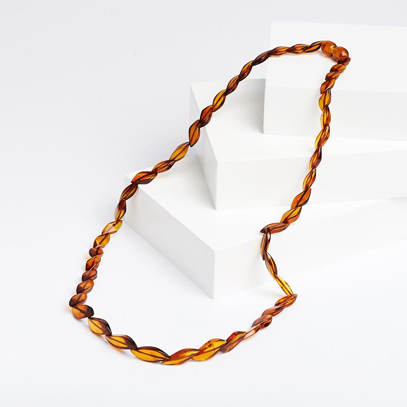 Бусы янтарь пресс 50 см