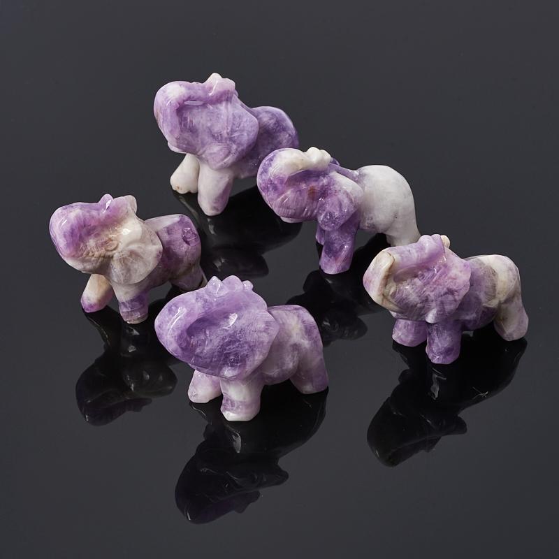 Слон аметист Бразилия 4-4,5 см