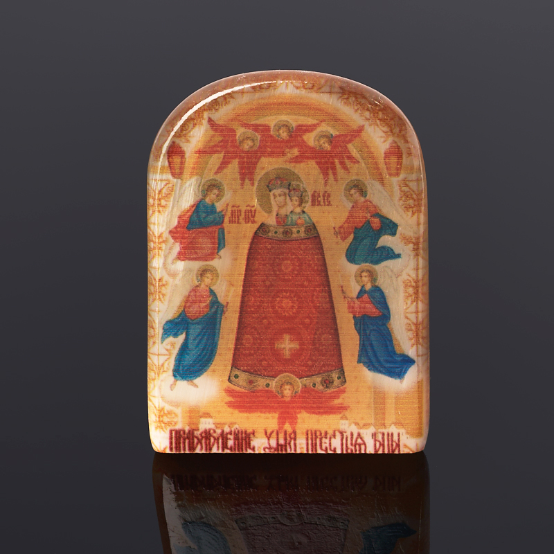 Изображение Богородица Прибавление Ума селенит 6 см