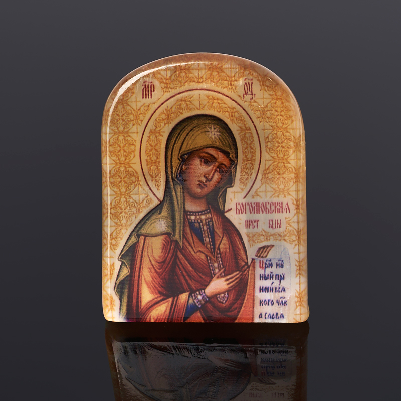 Изображение Боголюбская Богоматерь селенит 6 см
