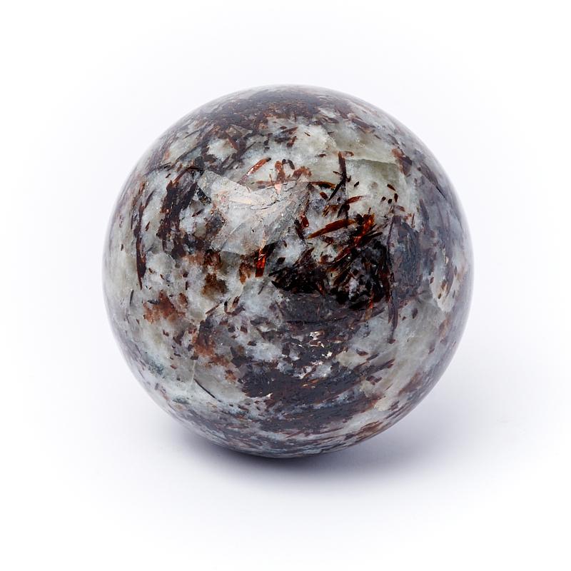 Фото - Шар астрофиллит 5 см свеча декоративная proffi шар цвет белый диаметр 7 5 см