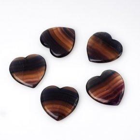 Сердечко флюорит 5 см