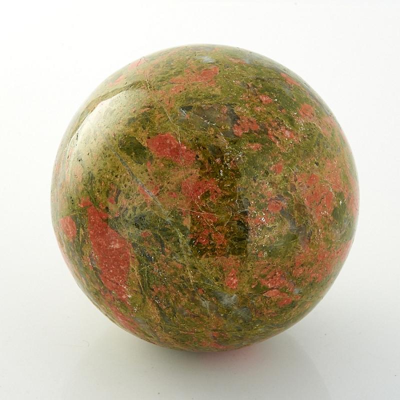 Шар унакит  6 см бусина унакит сплюснутый шар 6 5 мм 1 шт
