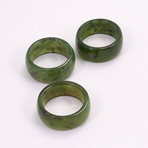 Кольцо нефрит зеленый Россия размер 17,5