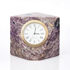 Часы чароит Россия 8х10,5 см