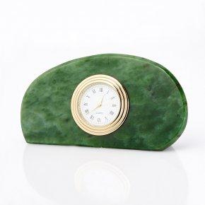 Часы нефрит зеленый Россия 6х11,5 см