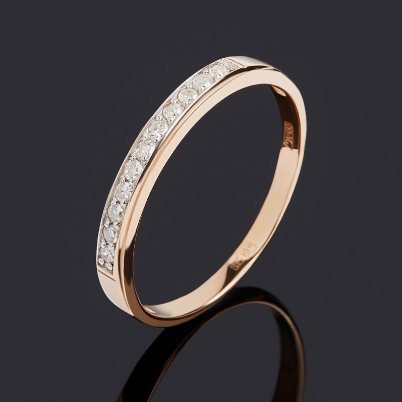 Кольцо бриллиант Индия (золото 585 пр.) огранка размер 17