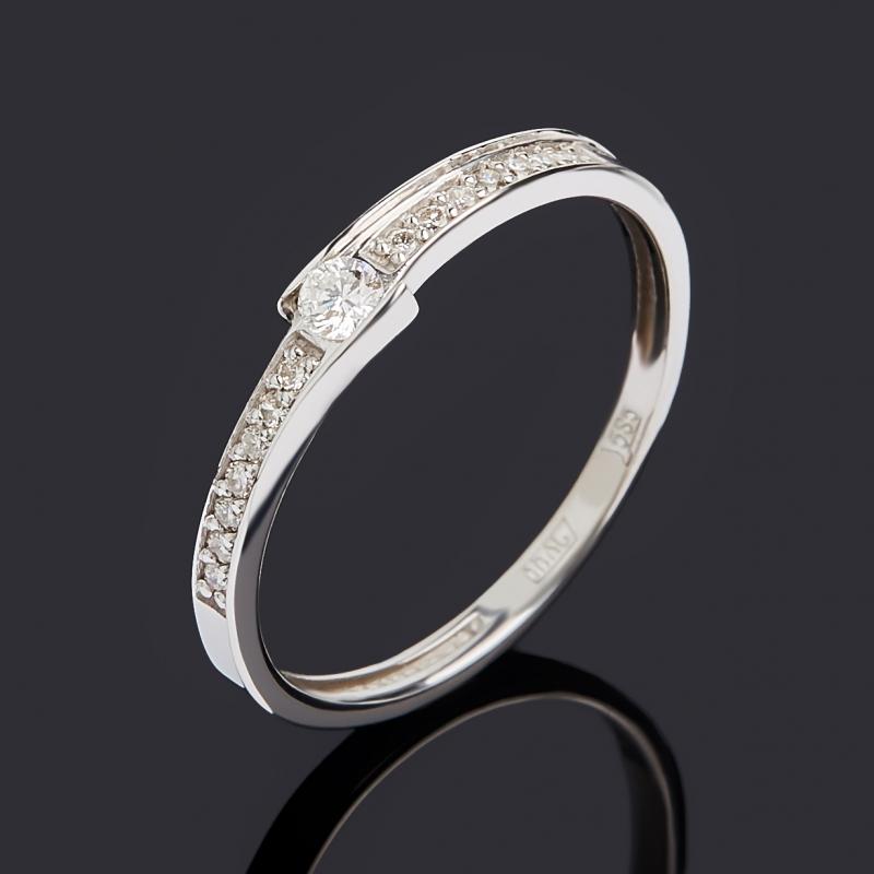 Кольцо бриллиант Индия (золото 585 пр.) огранка размер 21