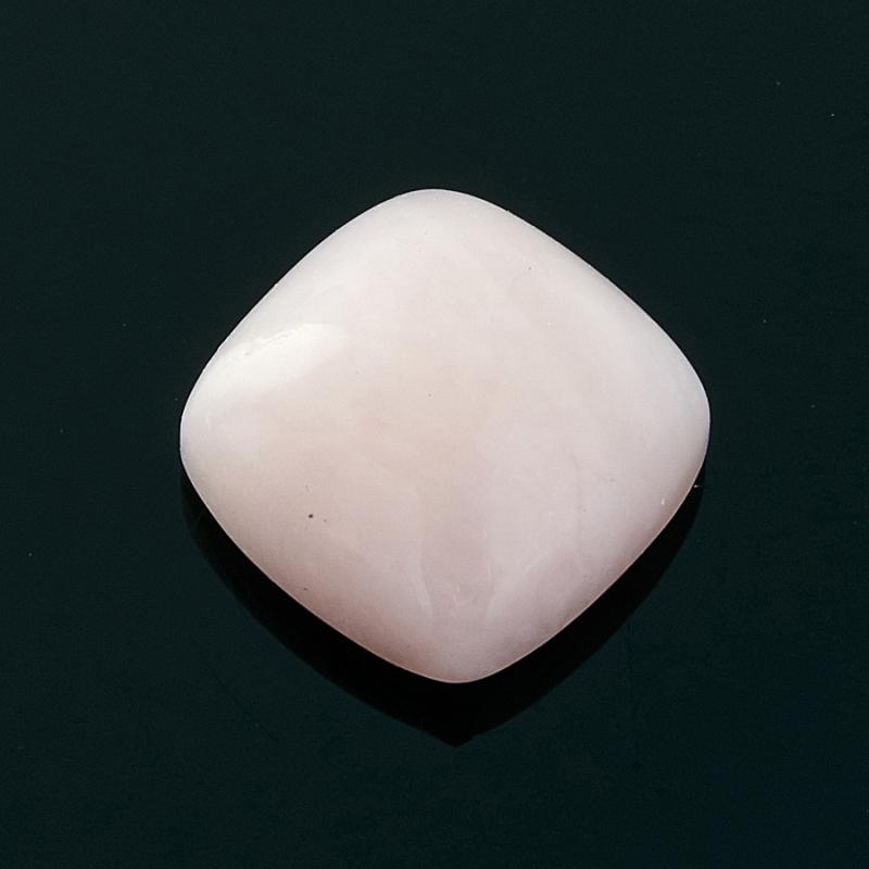 Кабошон опал розовый 8*8 мм