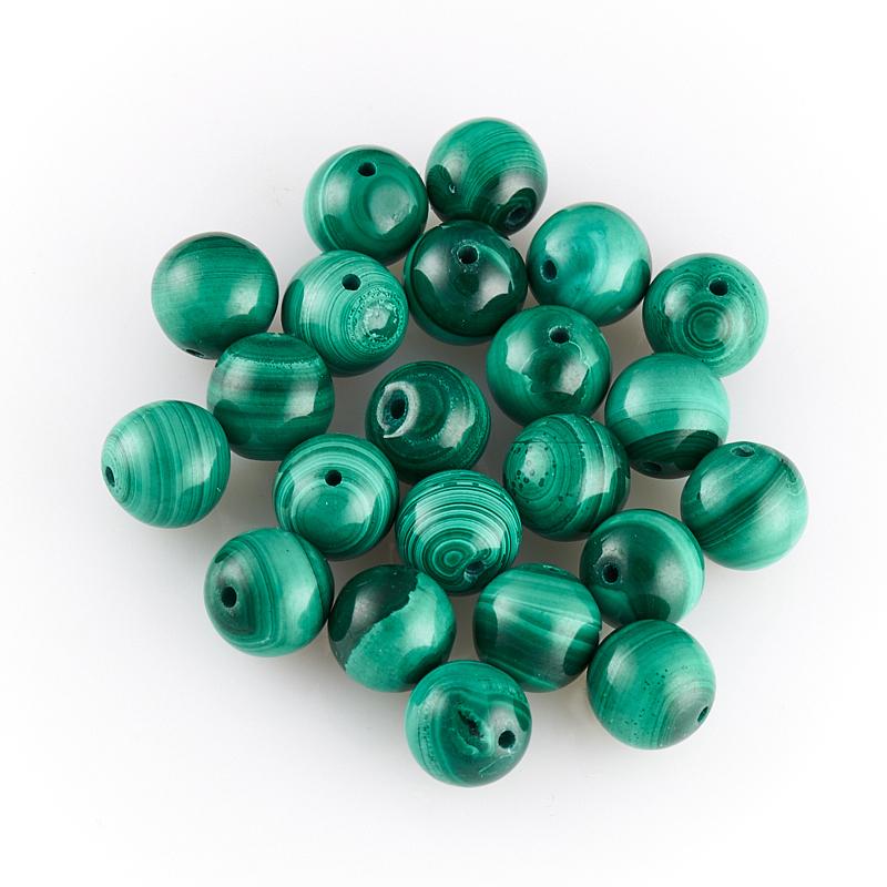 Бусина малахит шарик 6 мм (1 шт) цены онлайн