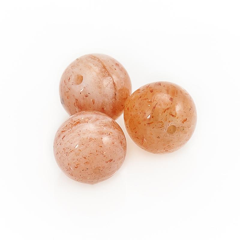Бусина солнечный камень шарик 8-8,5 мм (1 шт)