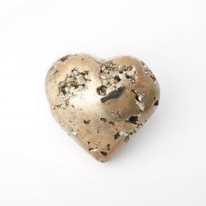 Сердечко пирит Перу 5,5 см