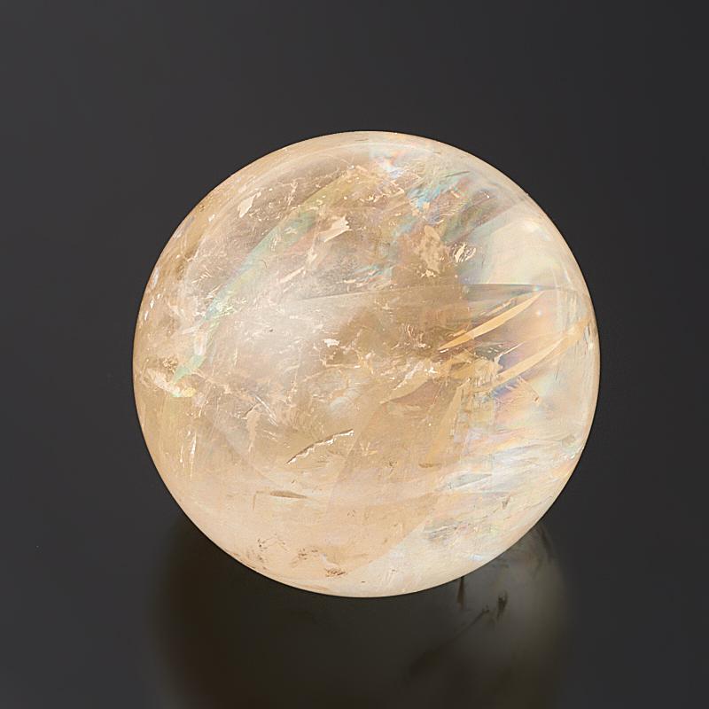 Шар кальцит желтый 4 см фото