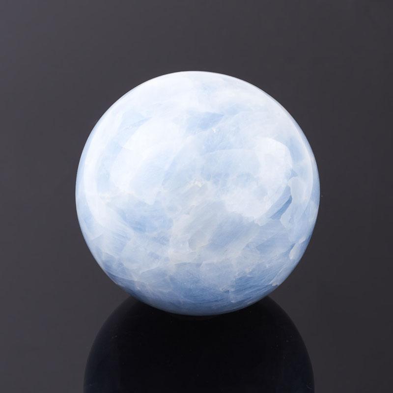 Шар кальцит голубой 9 см кальцит голубой 4 5 см 1 шт